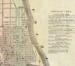 Downtown Chicago Map Vintage Map Of Chicago 1857 Chicago Illinois Map Antique