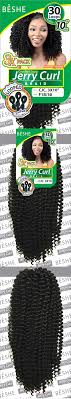 hair styles with jerry curl and braids beshe multi pack pre looped jerry curl crochet braid 10 3 pack