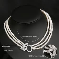 luxury pearl necklace images Beadsnice luxury pearl jewelry sets long bridal statement necklace jpg