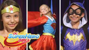 halloween costumes super heros get your cape on this halloween dc super hero girls youtube