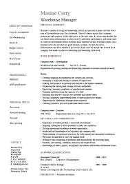 Warehouse Responsibilities Resume 100 Stocker Resume Sample Data Entry Cover Letter Pattern Clerk