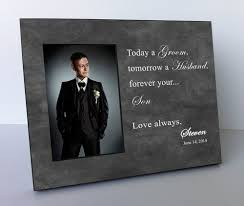 wedding gift groom to parents wedding gift parents of the groom personalized picture