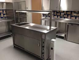 mobile kitchen island uk pod stainless quilter cheviot ltd staff restaurant