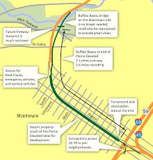 Buffalo Bayou Park Map Pierce Elevated Park