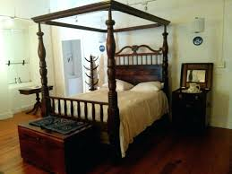 4 Post Bed Frame King 4 Post Bed 4 Poster Mahogany 4 Post Bed Frame King Amaki Info