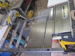 dewalt table saw dw746 sliding table saws choices and alternatives