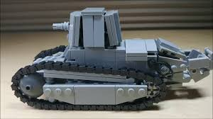 renault lego lego renault ft 17 75 bs blockhaus schneider youtube