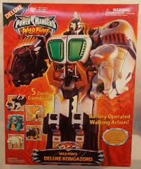 power rangers wild force deluxe kongazord misb action toys