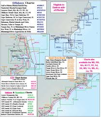 Map South Carolina Coast Coastline Layout Captain Segull U0027s