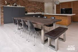contemporary dining tables large dining tables in copper zinc