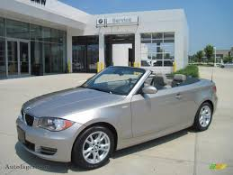 2009 bmw 128i convertible for sale 2009 bmw 1 series 128i convertible in silver metallic