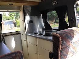 hightop vw t4 swb 2 4 diesel manual 2 berth campervan in