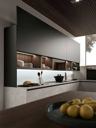 wall hung kitchen cabinets high style high performance snaidero s e wall kitchen