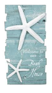 starfish decorations make any home your house with coastal decor the welcome to
