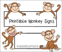 Monkey Paper Plate Craft - monkey theme crafts and learning activities for