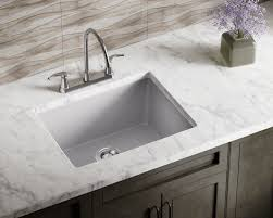 Silver Bathroom Sink 808 Silver Single Bowl Trugranite Sink