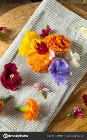 organic edible flowers organic edible flowers stock photo bhofack2 151289048
