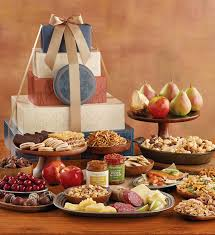 ultimate tower of treats celebration gift towers harry david