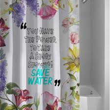 Shower Curtains With Quotes 764 Best Shower Curtain Images On Pinterest Shower Curtains