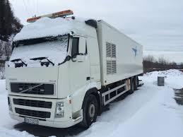 volvo truk volvo truck fh12 6x2 med skap bakløfter og sidedører for sale