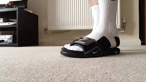 Nike Comfort Slide White Nike Elite Socks W Black Nike Comfort Slides 2 Youtube