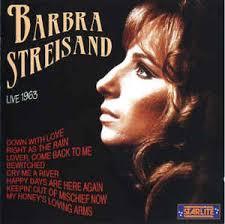 barbra streisand live 1963 cd album at discogs