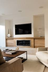 Fireplace Storage by Living Room Design With Fireplace And Tv Rustic Storage