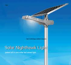 all in one solar street light china 40w solar nighthawk light adjustable solar led street light
