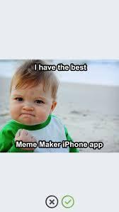 Meme Iphone App - meme maker make a meme with easy meme generator app apps 148apps