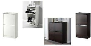 bissa shoe cabinet with 3 compartments ikea bissa shoe cabinet with 2 compartments in black brown white