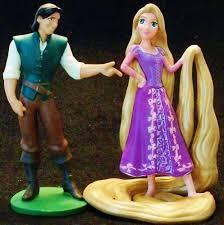 rapunzel cake topper 8 disney princess figurines for cakes photo disney princess