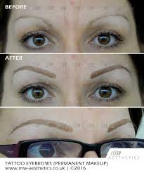 semi permanent eyebrows mw aesthetics permanent makeup