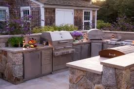 Stainless Steel Cabinets For Kitchen Kalamazoo Stainless Steel Cabinets Outdoor Kitchen Hybrid Grills
