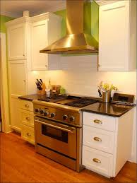 kitchen brown painted cabinets wood cabinet colors white and