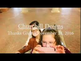 thanksgiving 2016 at churchill downs hourse racing