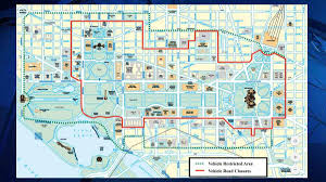Street Map Of Washington Dc by Here U0027s Which Roads Will Be Closed For Trump U0027s Inauguration Nbc4