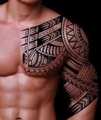 best tribal tattoos on arm sleeves back
