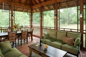 Covered Patio Ideas Perfect Screened Covered Patio Ideas With Decorating
