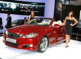 lexus coupe drop top lexus is convertible videos and paris show image gallery