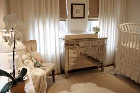 nursery chairs spaces traditional with window sheers roman shades