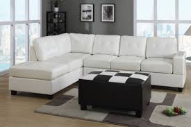 Modern Wooden Sofa Bed White Color Modern Leather Sectional Sleeper Sofa Bed With Wooden