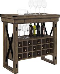 rustic wine cabinets furniture amazon com altra furniture wildwood wood veneer bar cabinet