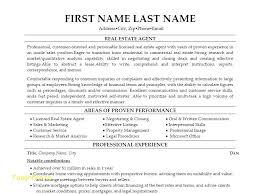 real estate resume templates sle resume real estate bio exles fresh sle resume real