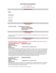 Resume Outlines Examples Resume Resume Outlines Examples