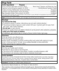 The Armchair Survivalist Ingredients List For Cobrazol Pain Killer Snake Venom Used To