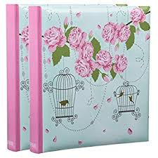photo albums with memo area arpan 5 x 7 large slip in memo photo album for 200 holds vintage