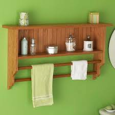 Wall To Wall Bookcases Wall Shelf And Towel Rack Woodworking Plan From Wood Magazine