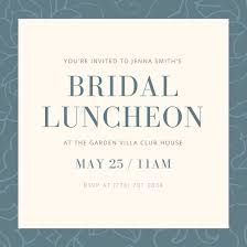bridal lunch invitations customize 113 luncheon invitation templates online canva