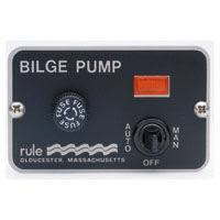 rule 3 way panel lighted bilge pump switches