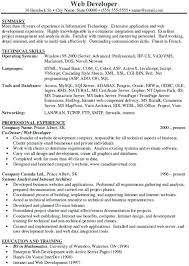 sample net developer resume u2013 topshoppingnetwork com